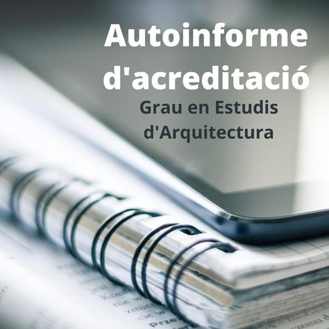 Acreditació del Grau en Estudis d'Arquitectura