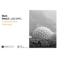 MPDA Open Lecture: Mark Pauly