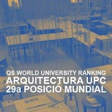 Arquitectura de la UPC, la 29a millor del món