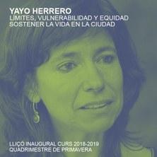 Conferència inaugural: Yayo Herrero
