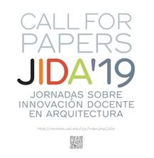 JIDA'19 «Call for papers» Jornades sobre innovació docent en arquitectura