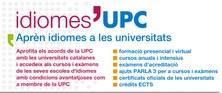 Idiomes UPC - Aprèn idiomes a les universitats