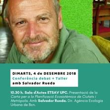 Conferència debat + taller amb Salvador Rueda