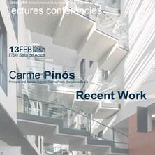 IASAP-BV Conferències: Carme Pinós. «Recent Work»