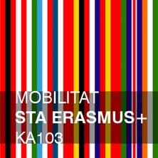 Convocatòria de mobilitat STA Erasmus+ KA103, 2018-19.