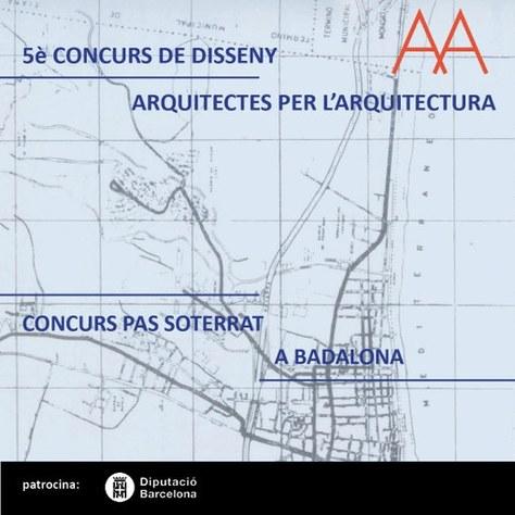 5è Concurs de Disseny AxA: Millora d'un pas soterrat a Badalona