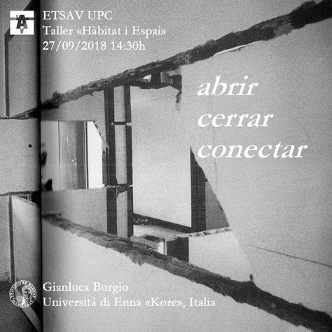 Conferència: «Abrir Cerrar Conectar»