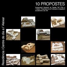 Inauguració Exposició Treballs TAP PTEe + Presentació Llibre 10 Propostes