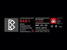 BAQ 2018. Biennal Panamericana d'Arquitectura de Quito