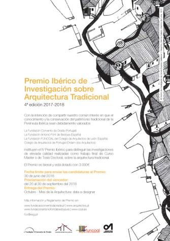 Convocatòria Premi Ibèric de Recerca sobre Arquitectura Tradicional