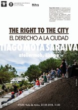 Conferència 'The Right to the City', a carrèc de Tiago Mota Saraiva