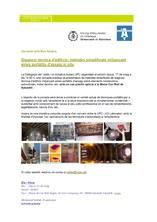 Diagnosi tècnica d'edificis: mètodes simplificats mitjançant eines portàtils d'assaig in situ