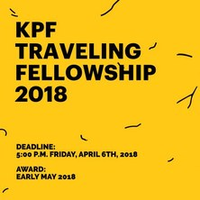 KPF Traveling Fellowship 2018