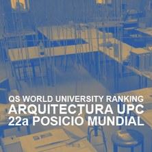 Arquitectura de la UPC, la 22a millor del món