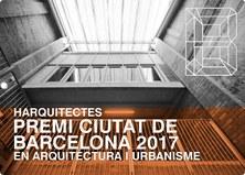 HArquitectes, Premi Ciutat de Barcelona 2017