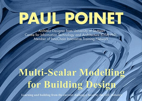 MPDA Open Lecture: Multi-Scalar Modelling for Building Design