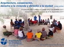 Arquitectura, cooperació, dret a l'habitatge i dret a la ciutat