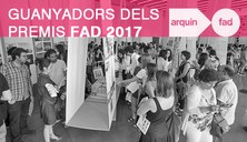 Guanyadors dels Premis FAD 2017
