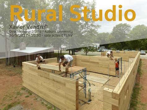 Xavier Vendrell parla sobre el «Rural Studio», Alabama