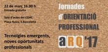 ARQ'17 Jornada d'orientació professional