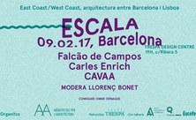 ESCALA Conferència amb Falcão de Campos, Carles Enrich i CAVAA