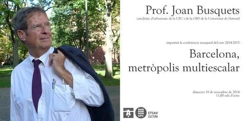 Joan Busquets a la lliçó Inaugural